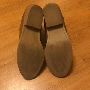 Universal Thread Shoes - EUC women's size 7.5 brown booties
